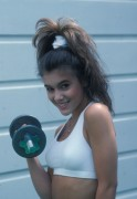 Alyssa Milano -  Fitness Photoshoot,  1989  -  (X11 HQ)