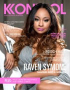 Raven Symone ~ Cover of Nov/Dec 2010 Kontrol Magazine x3