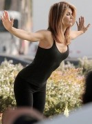 Lori Loughlin milf-y in skin-tight black clothes ... 2 pics