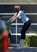 Kristin Davis - candids in tight capri jeans - Brentwood, CA - October 17, 2011 - (HQ x 8) (Adds x 3)
