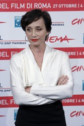 Кристин Скотт Томас, фото 61. Kristin Scott Thomas 'The Woman in the Fifth' Photocall at the International Rome Film Festival (30.10.2011), foto 61