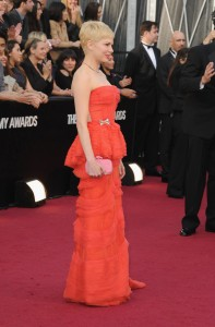 Мишель Уильямс, фото 864. Michelle Williams 84th Annual Academy Awards in LA, 26.02.2012, foto 864