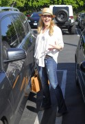 Джули Бенц, фото 1149. Julie Benz leaving Mauros Cafe in Melrose - March 3, 2012, foto 1149