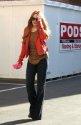 Линдси Лохан, фото 23085. Lindsay Lohan - out and about in Beverly Hills 03/08/12, foto 23085