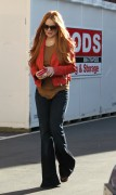 Линдси Лохан, фото 23088. Lindsay Lohan - out and about in Beverly Hills 03/08/12, foto 23088