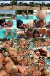 Henessy, Jessica Swan, Lana, Naomi, Sunny Diamond - Pool sex (2012/HD/1080p)