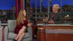 Amy Adams @ Late Show with David Letterman | August 28 2012