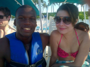 Miranda Cosgrove *ADD* wearing bikini top x1 LQ 9/1/12