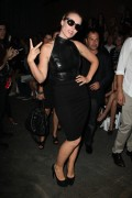 Natasha Bedingfield  - Christian Siriano fashion show in New York 09/08/12