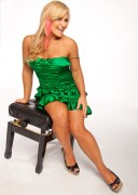 Natalya Neidhart: July 9th &amp;quot;Gorgeous in Green&amp;quot; Diva Focus (x8 Pics)