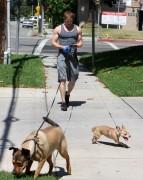 Kellan Lutz walking the dogs - July 15th, 2010 C4ecb288773411