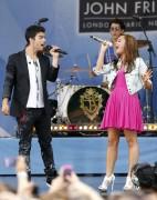 Деми Ловато, фото 122. Demi Lovato performs during ABC's 'Good Morning America' (august 13), photo 122